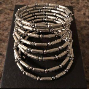 Jewelry - 💟 Stunning Silver Wrap Bracelet!